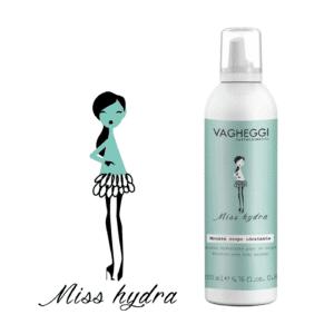 miss hidra MOISTURISING BODY MOUSSE VAGHEGGI