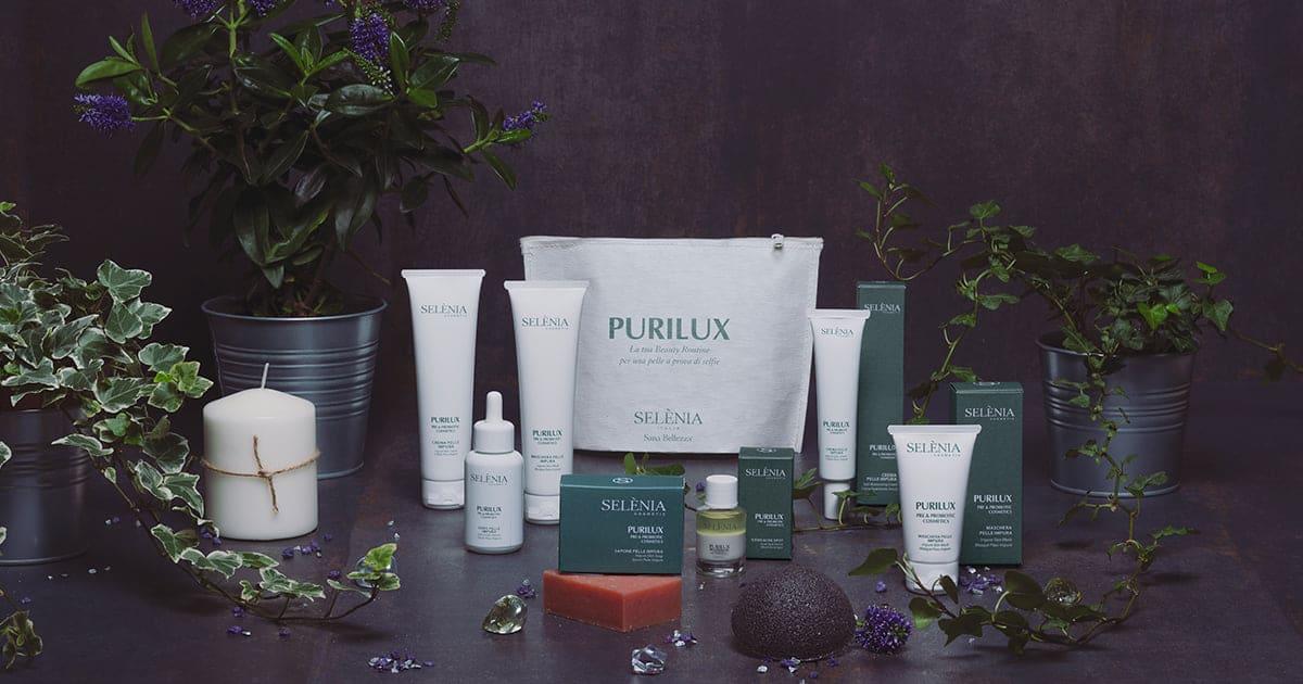 Gama Cosmetica cu Pre & ProBiotice PURILUX Selenia Italia