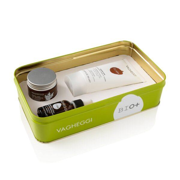 Set cadou anti-oxidant vegan și cosmetic ecologic Bio Vagheggi